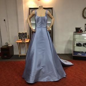 NWT! Jovani Blue/Periwinkle A-Line Prom Dress.